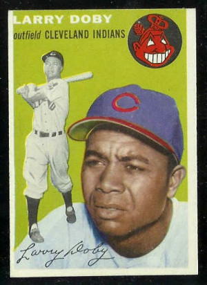1954 Topps #.70 Larry Doby ROOKIE SCARCE MID SERIES [#b] (Indians ...