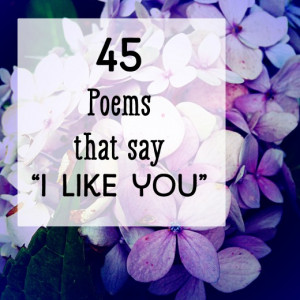 Like You' Poems: Short Rhymes and Messages for Guys and Girls