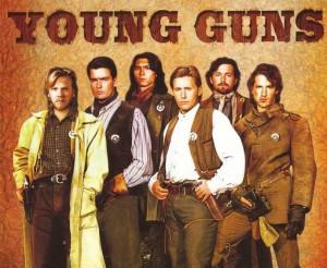 Young Guns Emilio Estevez