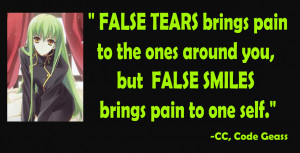 Displaying 13> Images For - Anime Quotes About Pain...