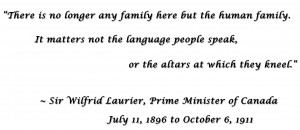 Sir Wilfrid Laurier Quote