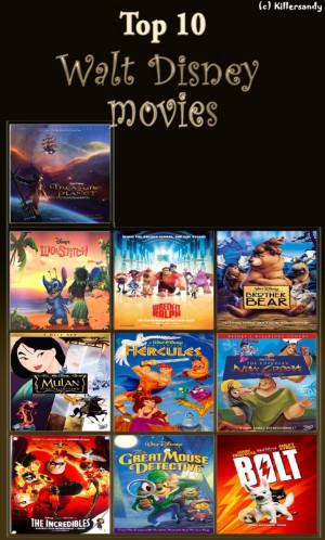 Disney Movie Memes My top 10 walt disney movies