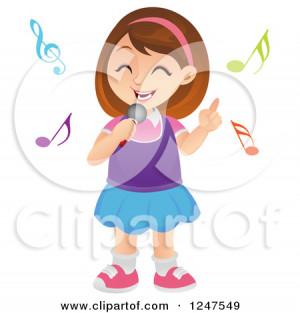 Clipart Boy Singing Opera