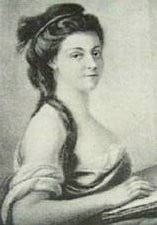 Sophie Condorcet, wife of French philosophe Marquis de Condorcet, a ...