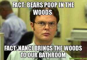 Dwight Schrute Fact Bears Schrute facts (dwight schrute