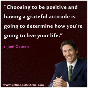 Choosing To Be Positive And Having