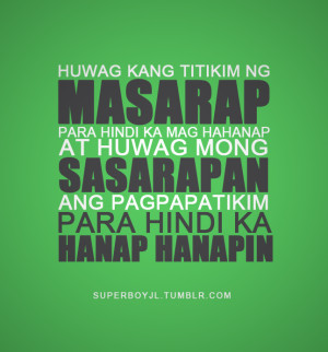 Famous Quotes In Tagalog Filipino Quotesgram