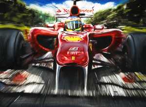Fernando Alonso Ferari Team