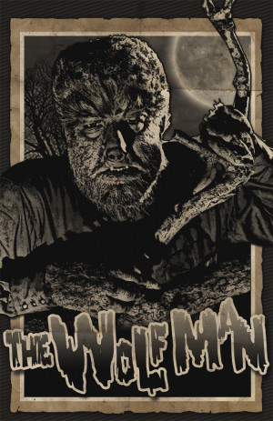 Lon Chaney The Wolfman Dok