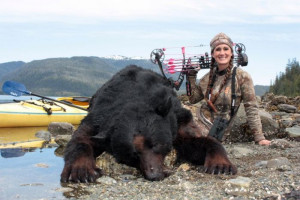 Professional hunter Melissa Bachman