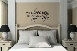 Vinyl Wall Quotes   Bedroom Quotes & Love Quotes