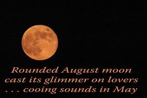 Full Moon Love Quotes Full moon - a haiga by sannel