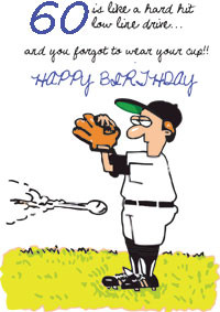 60th Birthday Card Funny