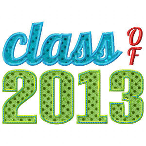 Home See It All Class of 2013 Applique
