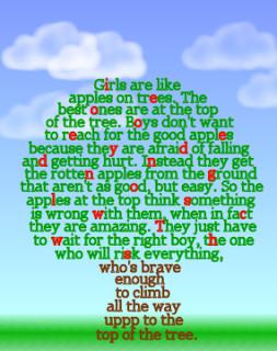 The Apple Tree Poem