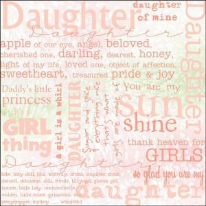 Scrapbooking Quotes Daughters