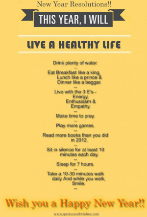 New Year Resolution1 Happy New Year Resolutions Health and Fitness