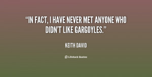 """In fact, I have never met anyone who didn't like Gargoyles."""""""
