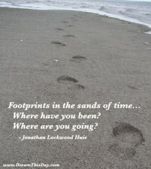 Inspirational Quotes about Footprints