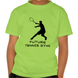 Tennis Quotes Kids T-Shirts