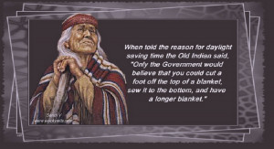 Old Indian Wisdom (click on picture to read words)