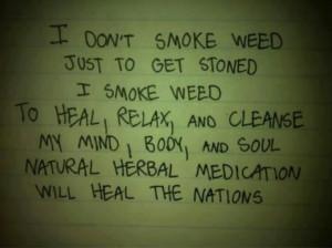 smoke weed.