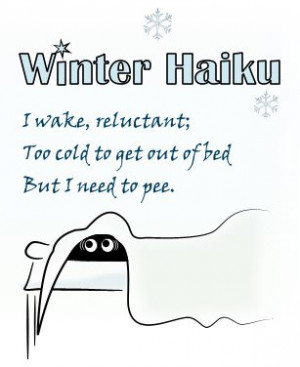 Back > Quotes For > Haiku Poems Examples About Winter