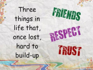 Trust And Respect Cannot Inspirational Quotes Pictures