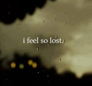 Feel Lost Quotes