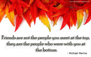 Friendship Quotes-Thoughts-Michael Marino-True Friends-Best Quotes