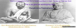 Ramakrishna Cover Comments