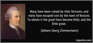 More Johann Georg Zimmermann Quotes