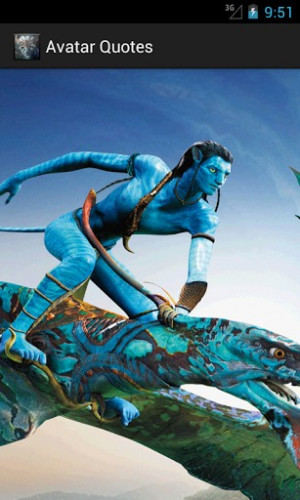 quotations of avatar avatar is a 2009 american epic science fiction ...