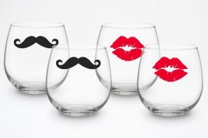 Cute Wine Glasses Wallpapers