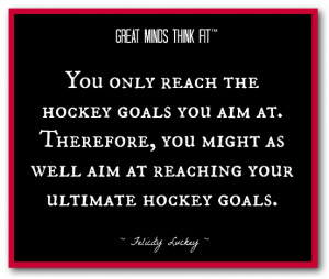 Miracle Hockey Quotes Ultimate hockey goals quote