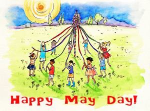 Happy May Day wishes. Labor Day wishes. Labor Day 2015 wishes.