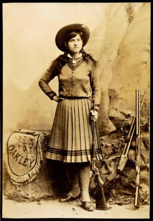 Annie Oakley: Sharpshooter. Gunslinger.