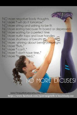 Quote - NO MORE EXCUSES