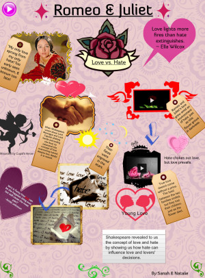 romeo and juliet love and hate Powerpoint lesson plan resource that explores act 3 scene 1 of romeo and juliet by william shakespeare and the theme of love and hate students will need a copy of act 3 scene 1.
