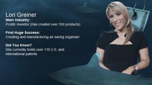 http://abc.go.com/shows/shark-tank/bio/lori-greiner/922586