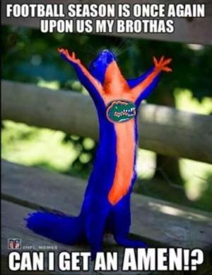 Now that a gator fan!!