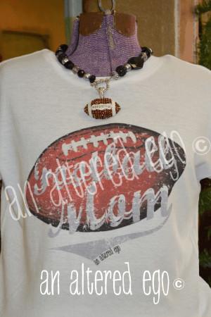 Mom Sayings Busy football mom tee-football mom vintage t shirt ...