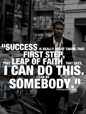 ... usher quote usher raymond success dedication motivational notes 47