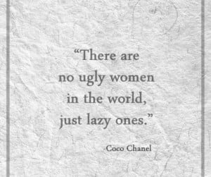 am obsessed w that quote coco chanel was one smart sex kitten don t ...