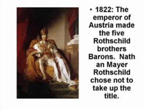 rothschild brothers barons nathan mayer rothschild chose not to take