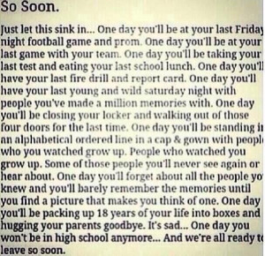quotes about high school memories tumblr so soon high school memories ...