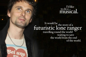 Matt Bellamy's most famous quotes, by NME (II)