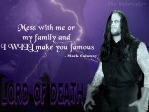 Dead Man - Undertaker Quotes