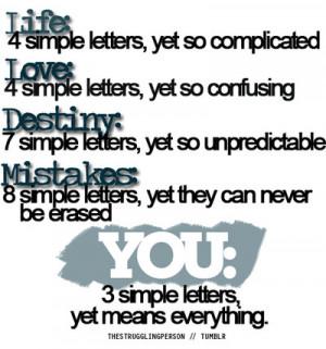 quotes,destiny,life,love,mistakes,quote ...