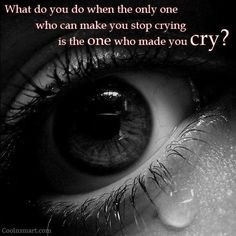 heart. you cry every night in your bed. when does this pain and hurt ...